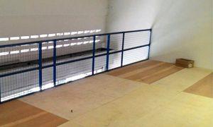 Handrail c/w Wire Mesh Cover
